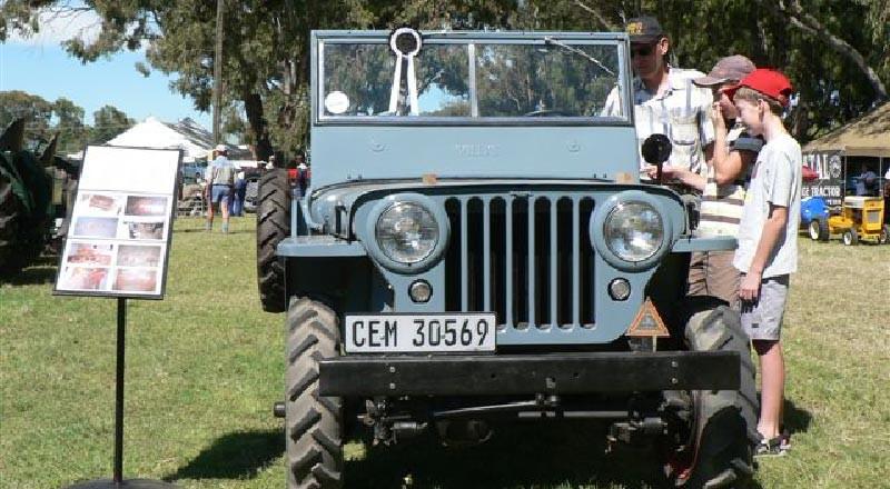 SAVTEC - National Show 2009 - voertuig van die skou