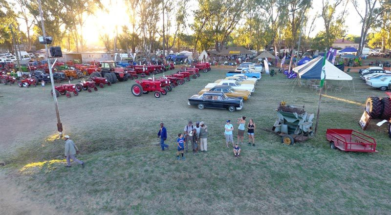Clocolan Plasskultuurfees 2019 - National Show Clocolan 2019 - South African Vintage Tractor and Engine Club